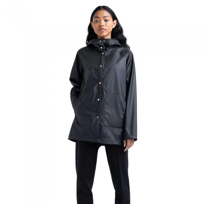 [해외]허쉘 Rainwear Classic 137104550 Black / White Classic Logo