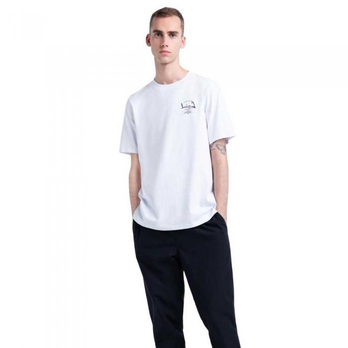 [해외]허쉘 Tee 137104460 Bright White / Arabic Classic Logo