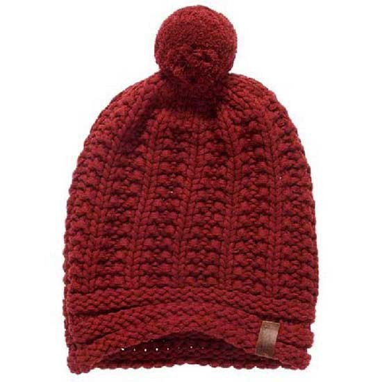 [해외]슈퍼드라이 Cheska Bobble Hat Rust Red