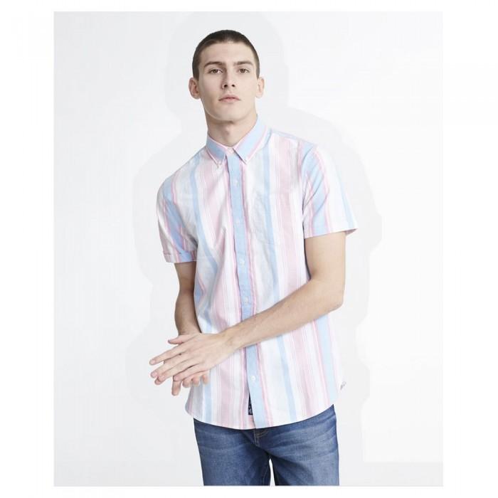 [해외]슈퍼드라이 클래스ic East 코스트 옥스포드 Candy Deck Stripe
