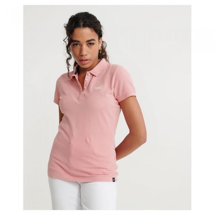[해외]슈퍼드라이 폴로 셔츠 Soft Pink