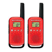 [해외]MOTOROLA TLKR-T42 2 Pack 4137020419 Red