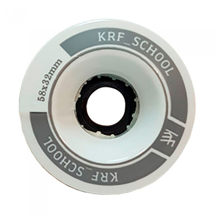 [해외]KRF 스쿨 Alu PU 58x32 mm 2 Units White
