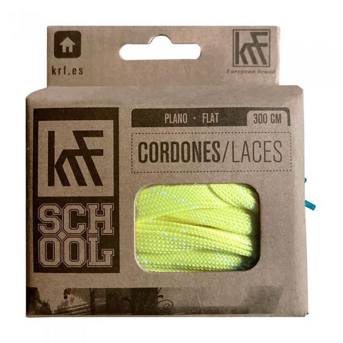 [해외]KRF Flat School Laces 14137542702 Lime