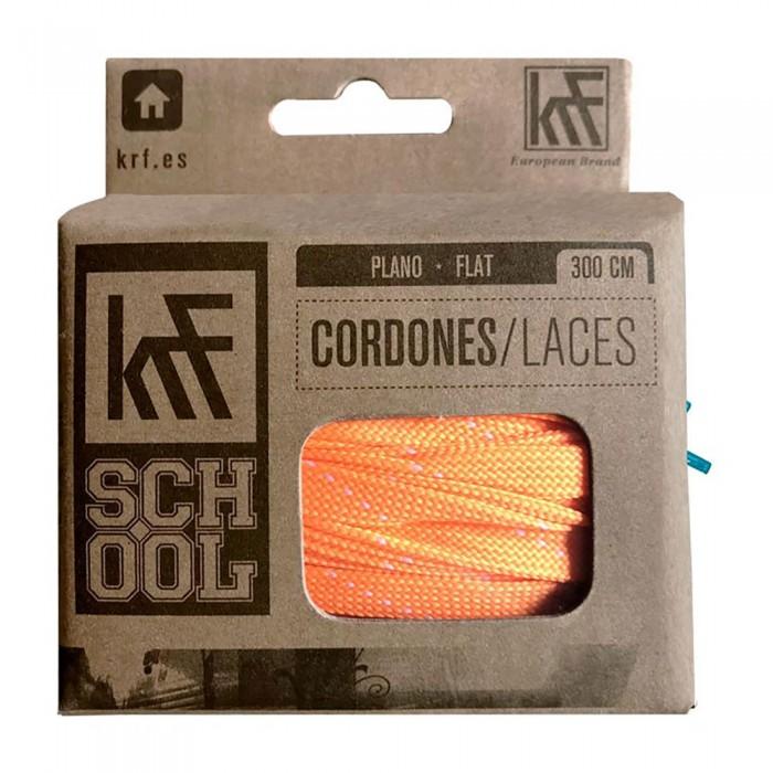 [해외]KRF Flat School Laces 14137542703 Orange