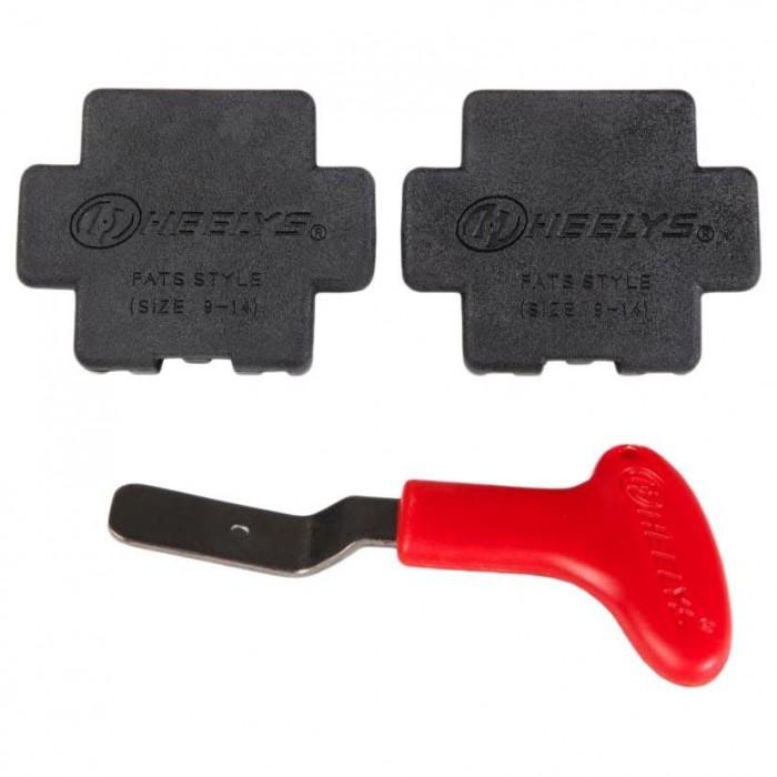 [해외]힐리스 Tool And Heel Plug Fats Red