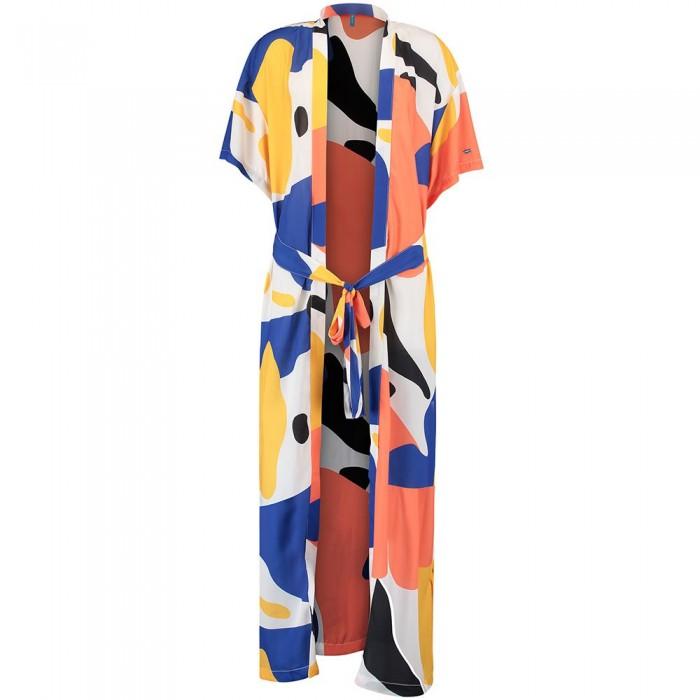 [해외]오닐 LW Ocean Mission Kimono Yellow AOP W/Red