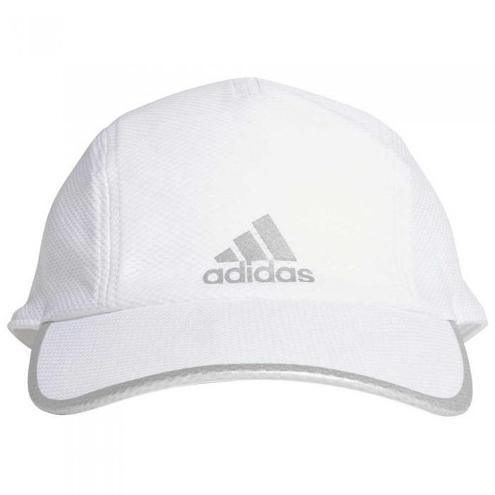 [해외]아디다스 러너 메쉬 에어로ready White / White / Reflective Silver