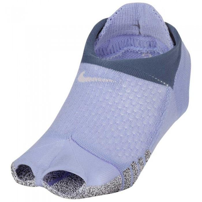 [해외]나이키 Grip Studio Toeless Footie 7137472055 Light Thistle / Diffused Blue / Barely Pink