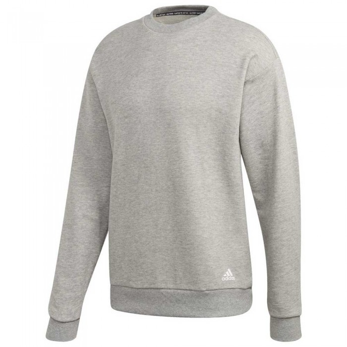 [해외]아디다스 Must Have 라이트웨이트 크루 Medium Grey Heather / White