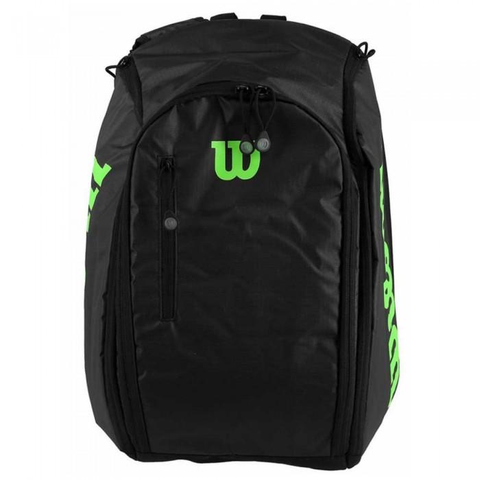 [해외]윌슨 Tour Backpack Black / Green