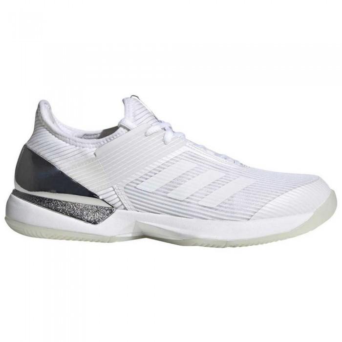 [해외]아디다스 Adizero Ubersonic 3 White / Black / Silver