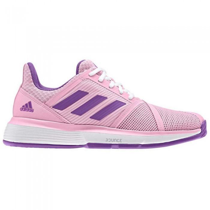 [해외]아디다스 코트jam Bounce M Ftwr White / Active Pink