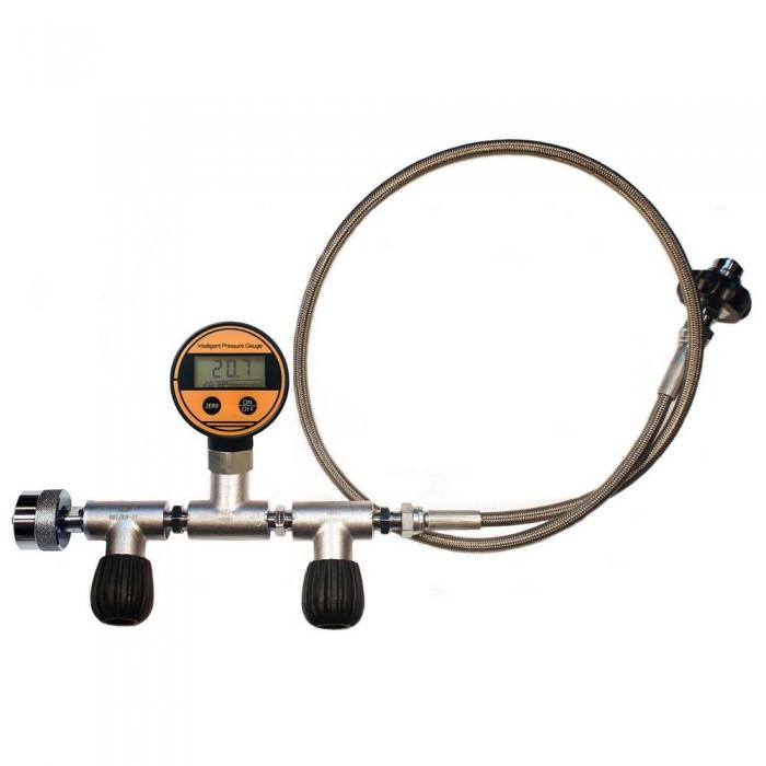 [해외]METALSUB Oxygen Equalizer Nevoc W30x2 To DIN 200/300 Flow Control Digital PG 10137540600 Steel