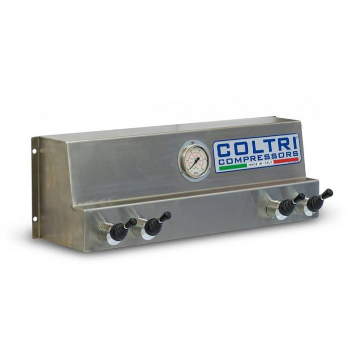 [해외]COLTRI Filling 패널 위드 Valves Gauge 300 Bar Steel