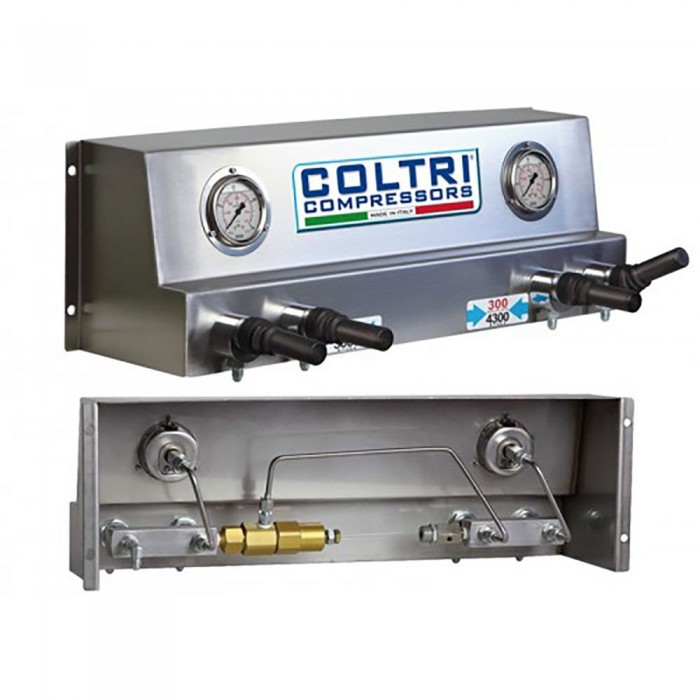 [해외]COLTRI Filling 패널 위드 Valves 232/300 Bar Steel