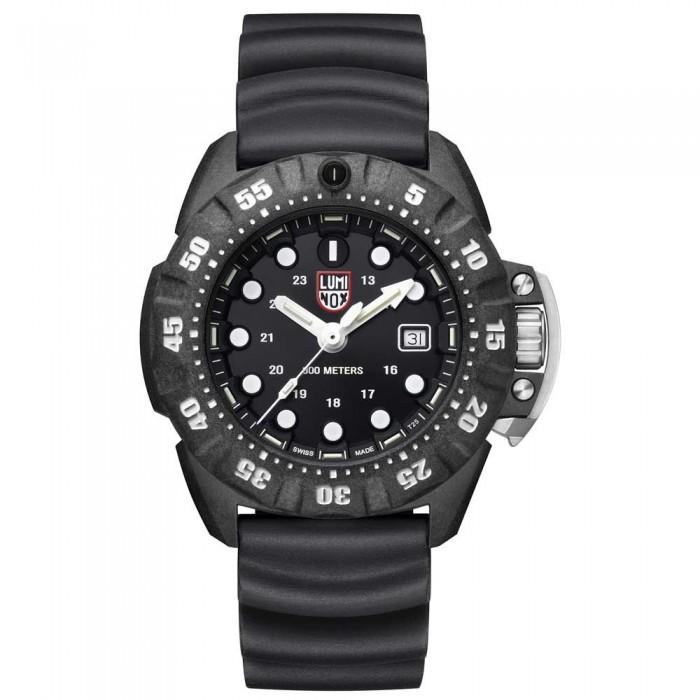[해외]루미녹스 Scott Cassell Deep Dive Carbon 1551 10136926834 Black / White