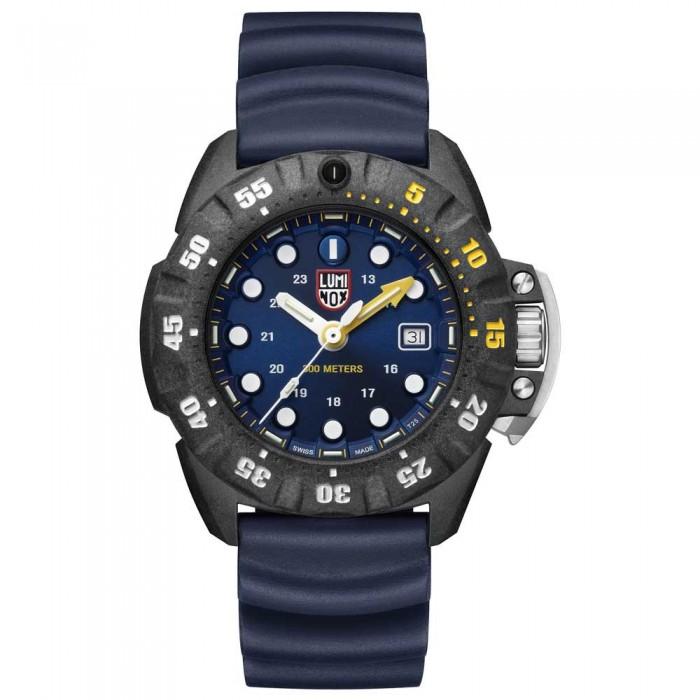 [해외]루미녹스 Scott Cassell Deep Dive Carbon 1553 10136926835 Black / Blue