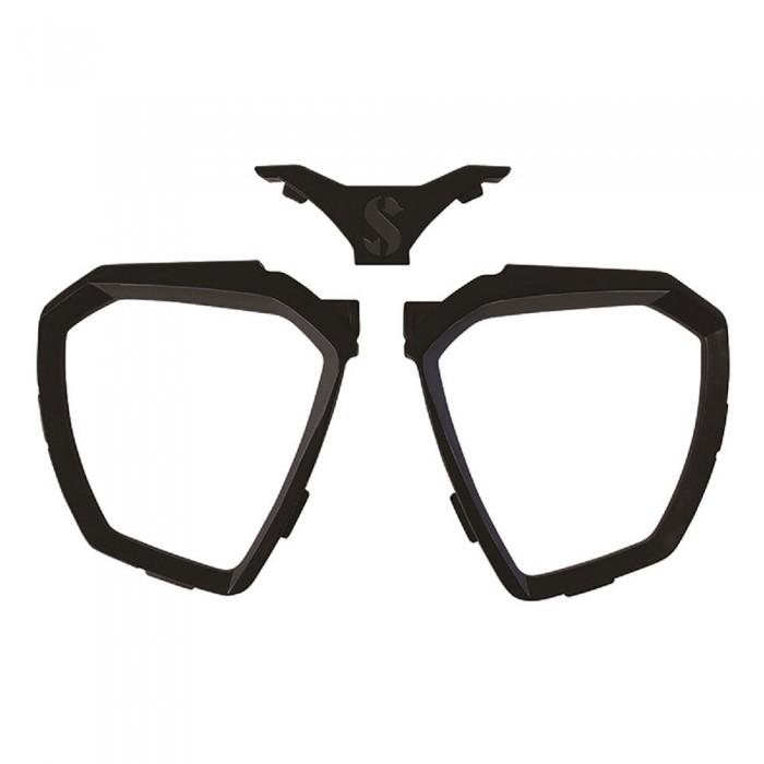[해외]스쿠버프로 Faldon D-Mask 10137366580 Black