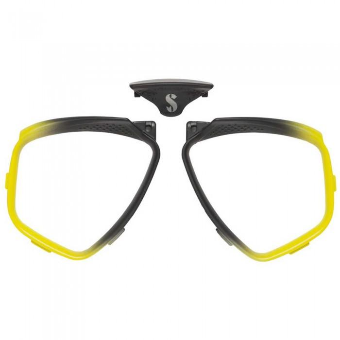 [해외]스쿠버프로 Faldon D-Mask 10137366585 Yellow