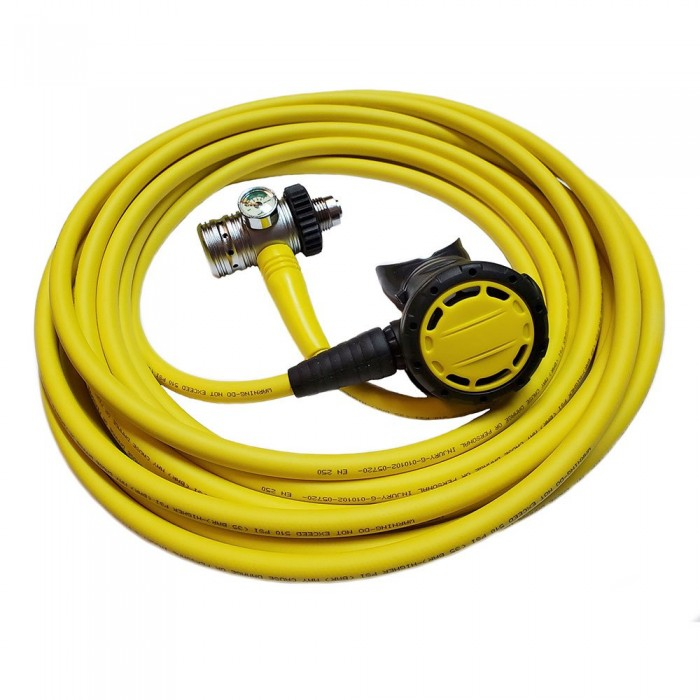 [해외]METALSUB Hookah DIN Piston 10 m 10137550091 Yellow