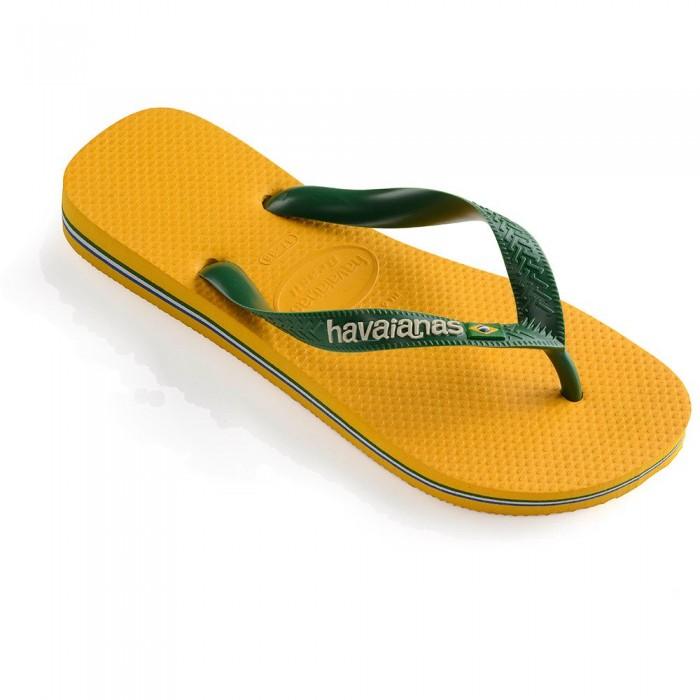 [해외]하바이아나스 Brasil Logo 10137102165 Banana Yellow