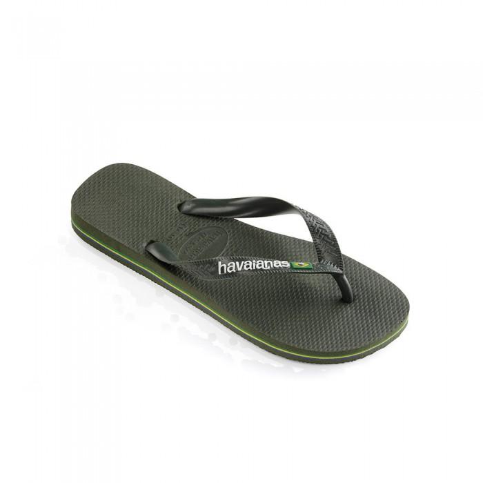 [해외]하바이아나스 Brasil Logo 10137102166 Green Olive