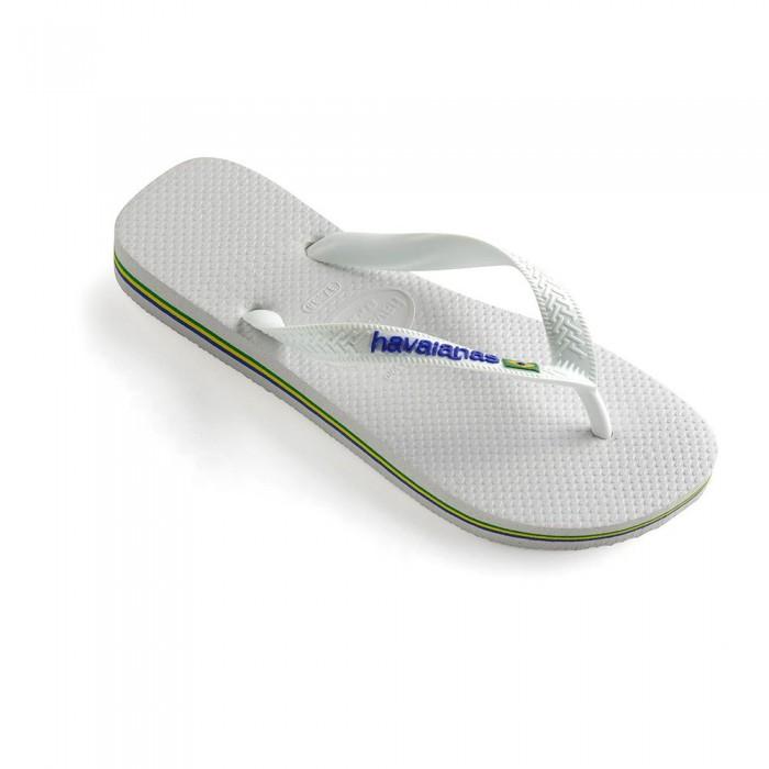 [해외]하바이아나스 Brasil Logo 10579488 White