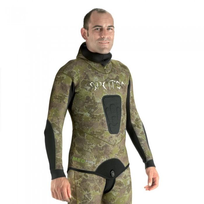 [해외]스페톤 Camo Jacket 7 mm 10137536998 Med Green Camo
