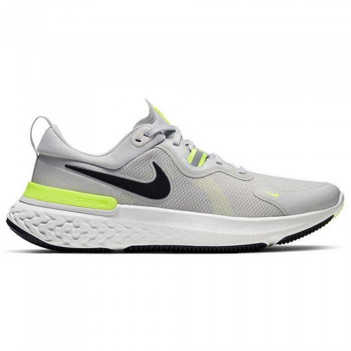 [해외]나이키 React Miler Grey Fog / Black / Particle Grey / Volt