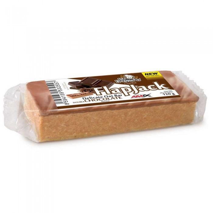 [해외]AMIX Flap Jack Oat 120gr x 30 Bars Double Chocolate