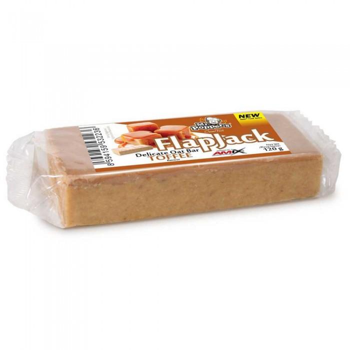 [해외]AMIX Flap Jack Oat 120gr x 30 Bars Toffee