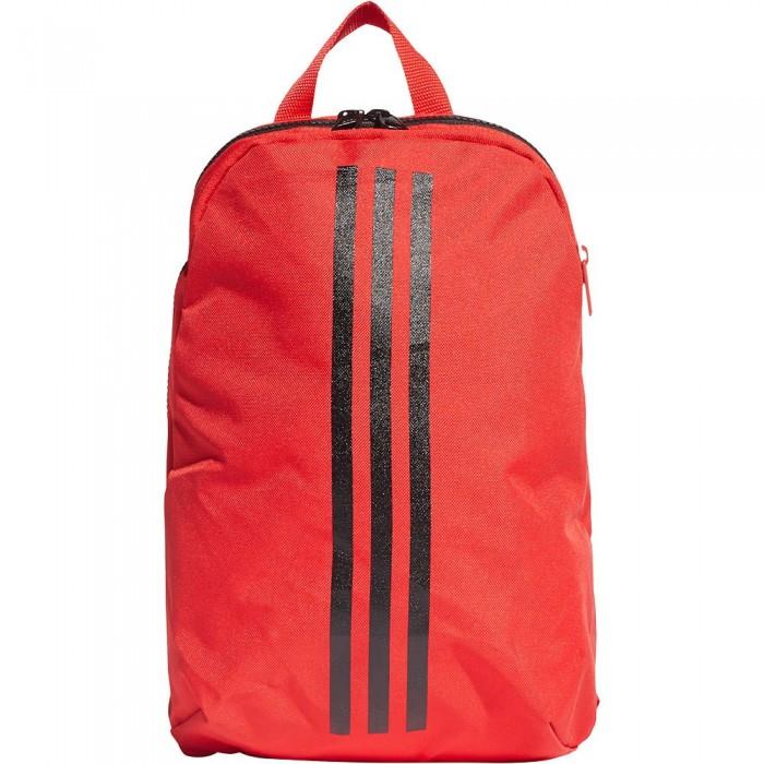 [해외]아디다스 클래스ic XS 3 스트라이프s 10L Vivid Red / Black / White
