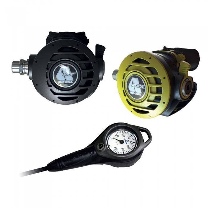 [해외]아펙스 ATX Stage 4 DIN 위드 Octopus And Gauge Black / Steel