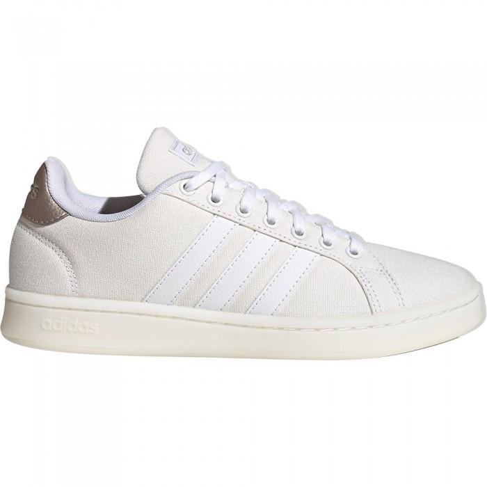 [해외]아디다스 Gr앤드 코트 Footwear White / Footwear White / Silver Metal
