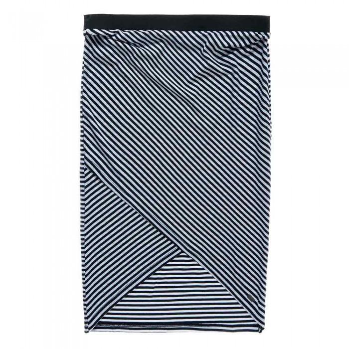 [해외]슈퍼드라이 Azur Wrap Skirt Navy / White Stripe