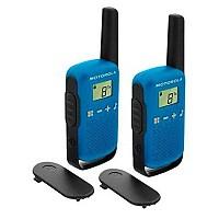 [해외]MOTOROLA TLKR-T42 2 Pack 4137020418 Blue