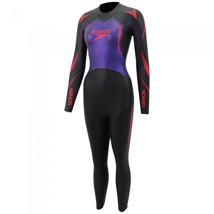 [해외]스피도 Xenon Fullsuit 6137449470 Black/Purple