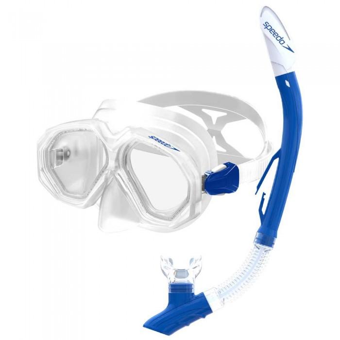 [해외]스피도 Leisure Dual Lenses Combo 6137435869 Clear/Chroma Blue
