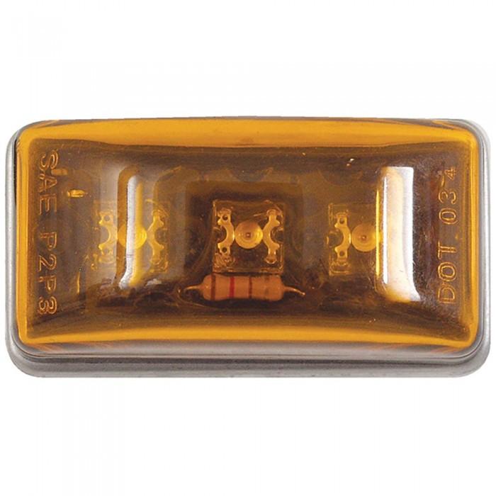 [해외]SEACHOICE LED Mini Clearanve With Stud 137524928 Amber