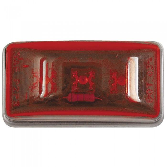 [해외]SEACHOICE LED 미니 Clearanve 위드 Stud Red