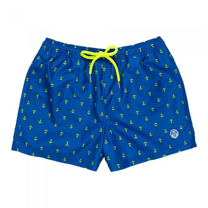 [해외]NORTH SAILS Allover Volley 137315210 Royal Blue / Yellow