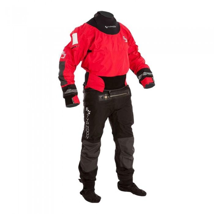 [해외]TYPHOON Multisport 4 With Boots 137478842 Black / Red