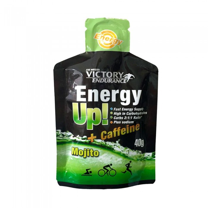 [해외]VICTORY ENDURANCE Energy Up 40gr x 24 Gels 136514103 Mojito