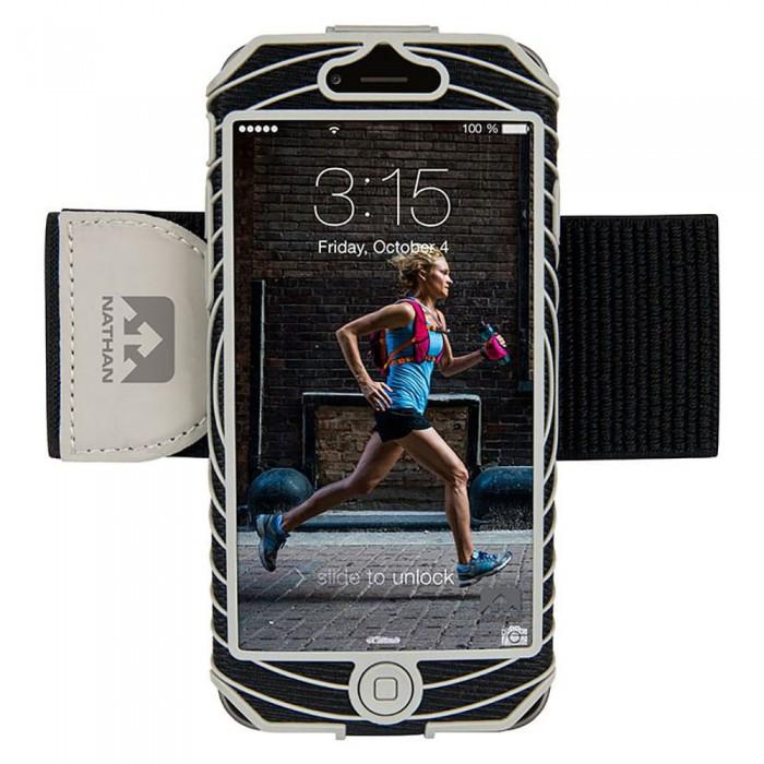 [해외]NATHAN SonicBoom iPhone 6 Black / Silver