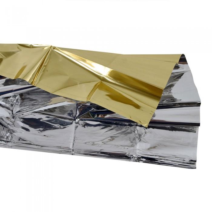 [해외]INSTINCT TRAIL Safety 블랭킷 60G/210 160 cm Gold Silver