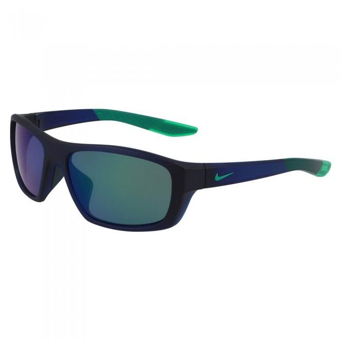 [해외]나이키 비전 Brazen Boost 미러ed Dark Obsidian / Light Green