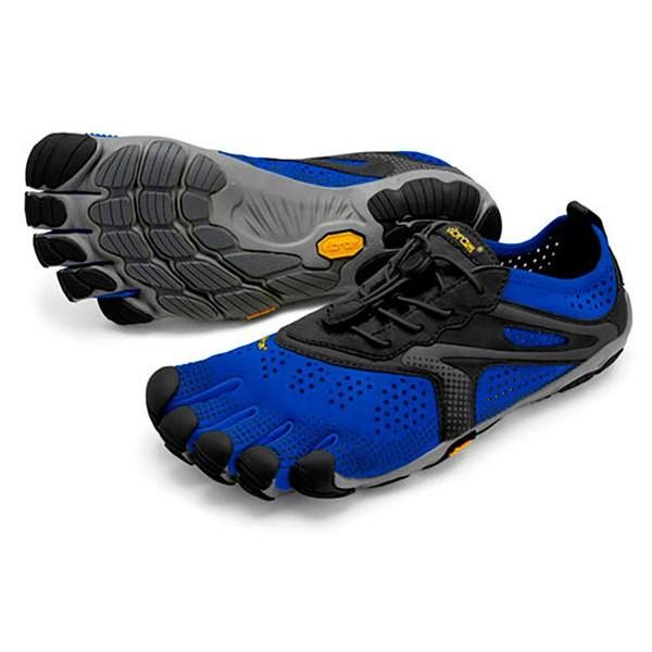 [해외]비브람 FIVEFINGERS V Run 6137314685 Blue / Black