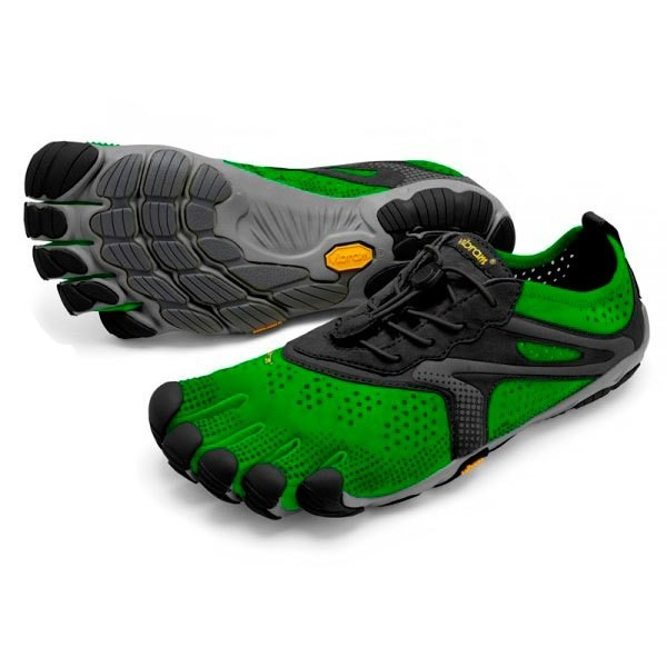 [해외]비브람 FIVEFINGERS V Run 6137314686 Green / Black