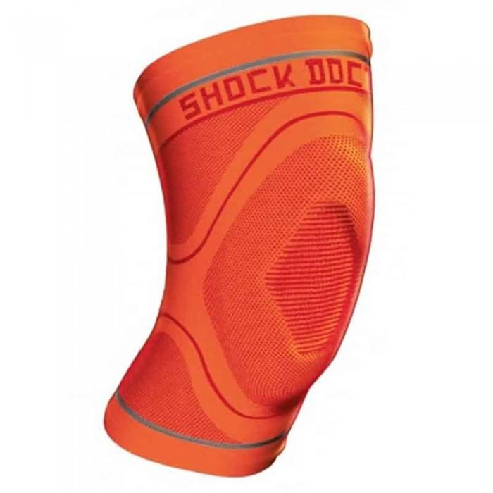 [해외]쇼크닥터 Compression 니트 Knee Sleeve 위드 Gel Orange